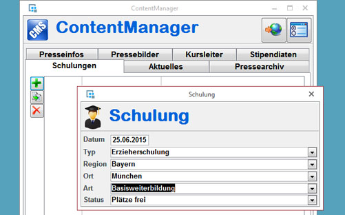 Content Management mit Access